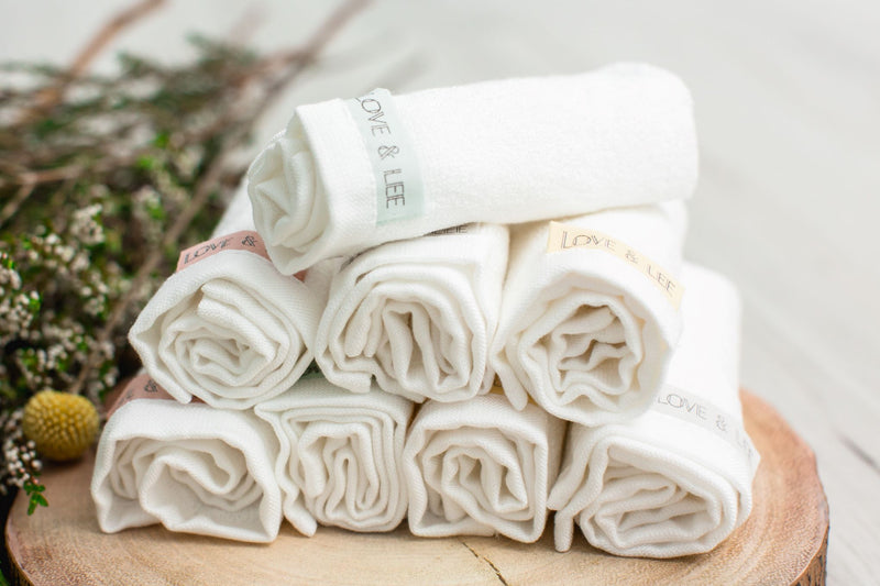 Love&Lee Bamboo Washcloth