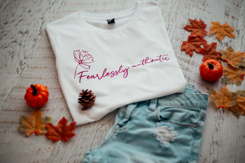 Fearlessly Authentic - Kids (Long sleeve)