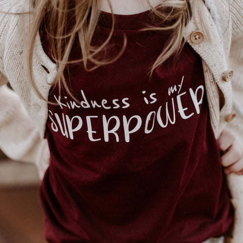 Kindness is my superpower -Kids (long sleeve)