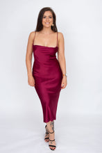 Load image into Gallery viewer, Bec & Bridge Kaia Cowl Dress (Plum)