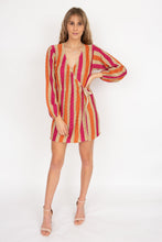 Load image into Gallery viewer, Suboo Jacquelyn Knit Wrap Dress