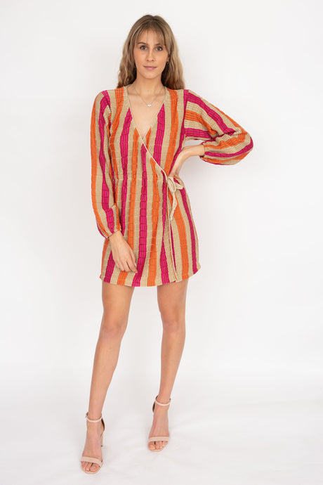 Suboo Jacquelyn Knit Wrap Dress