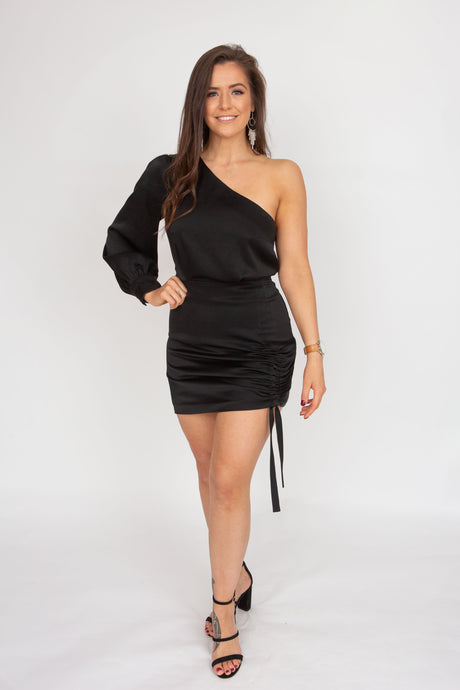 Kookai Vangeline Dress (Black)