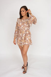 Shona Joy Dixe Ots Mini Dress