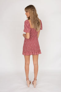 Auguste The Label Marlowe Shirred Mini Dress