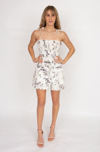 Sir the Label Mariele Ruched Mini Dress