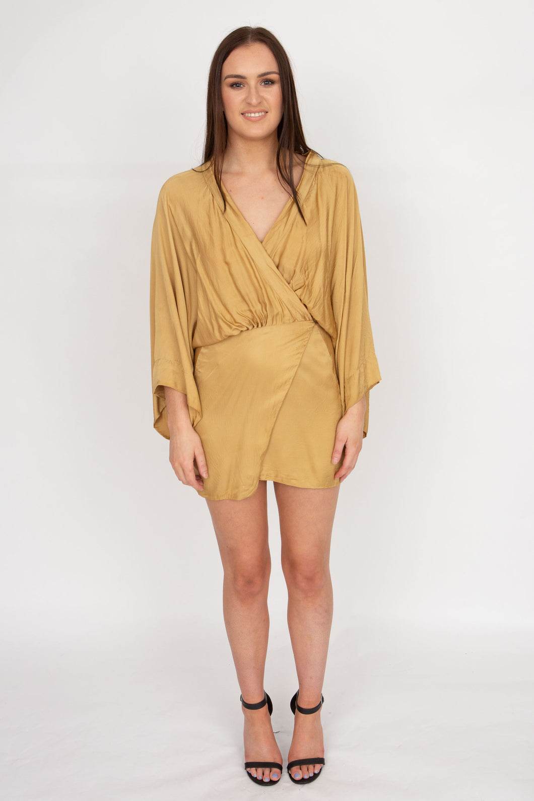 All Things Golden Lush Kimiono Dress