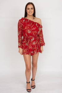 Zimmerman Corsair Iris Playsuit