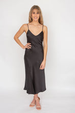 Load image into Gallery viewer, Bec & Bridge Gabrielle V Dress- Black