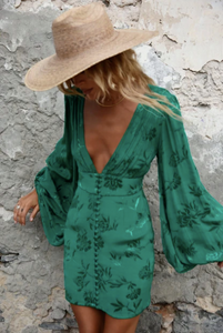 Rat & Boa Isabella Dress- Green
