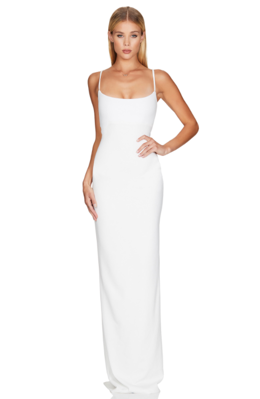 Nookie Bailey Midi- Ivory