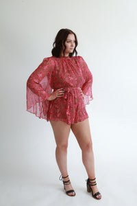 Zimmerman Cosmic Flare Playsuit