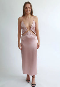 Natalie Rolt Florence Dress- Blush