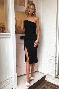 By Nicola Nightfall Midi- black