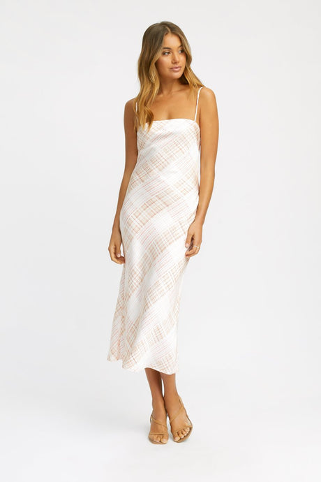 Kookai Checkmate Slip Dress