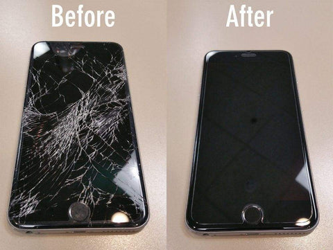 cracked phone repair