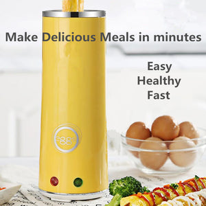 #1 BEST SELLER New Version 2019 Egg-Roll Hands-Free Automatic Electric Vertical Nonstick Easy Quick Egg Cooker 50%OFF TODAY