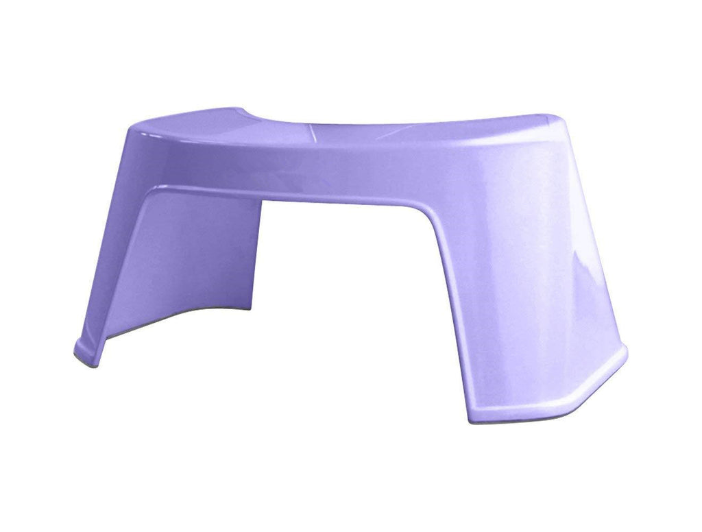 Bathroom Toilet Squatty Foot Stool | All Ages | One Size | Lavender