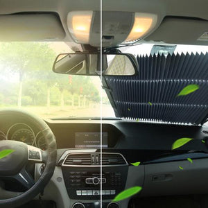 【Automatic Retractable】Car Window Shades Window Visor Prevent Ultraviolet Rays