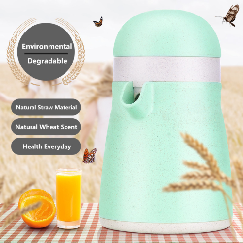 Juicer Hand Manual Natural Straw Material Lemon Juice Press Squeezer Fruits Squeezer Citrus Juicer Fruit Reamers