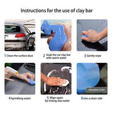 Car Clean Clay Bar, Makes Car Surface Smooth *2 bar