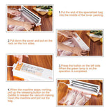 FREE SHIPPING - Automatic Household Food Vacuum Sealer Packaging Machine