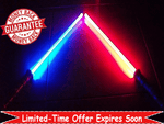 """2 For 1 Lightsabers Offer"" - For The Real Life Fight Duel Experience"