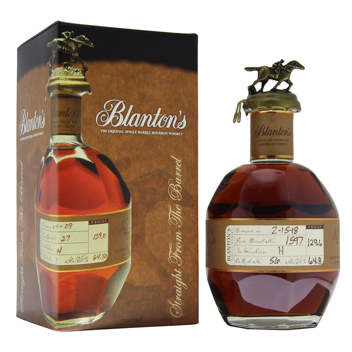 Blanton's Straight From The Barrel - 1597