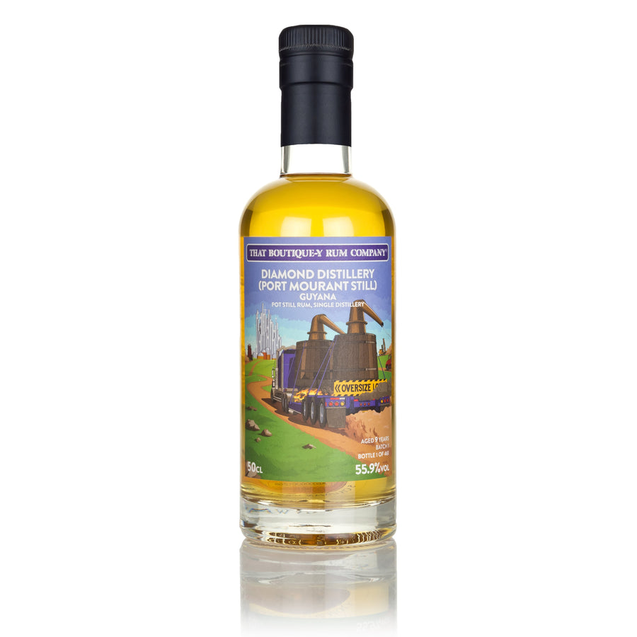 Diamond Distillery (Port Mourant Still), Guyana - Pot Still Rum, Single Distillery - Batch 1 - 9 Year Old