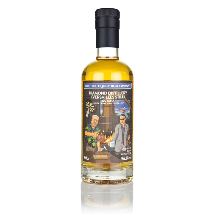 Diamond Distillery (Versailles Still), Guyana - Pot Still Rum, Single Distillery - Batch 1 - 13 Year Old