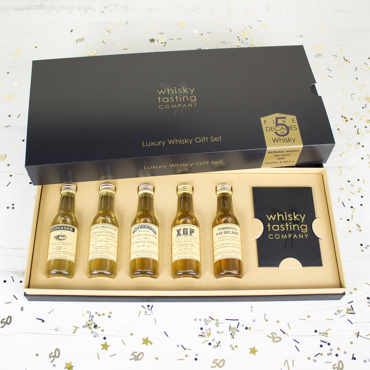 Five Decades of Whisky Tasting Set
