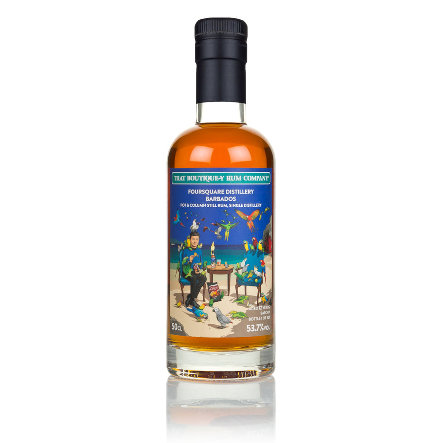 Foursquare, Barbados - Pot and Column still Rum, Single Distillery - Batch 1 - 12 Year Old