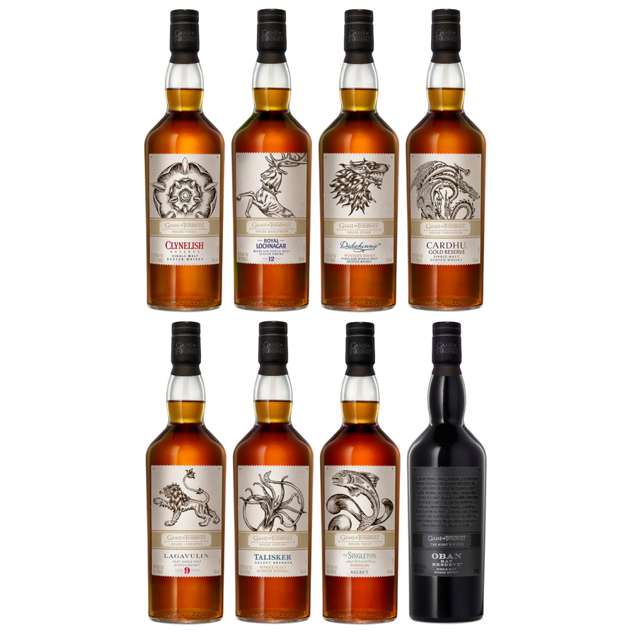 Game of Thrones Whisky Collector's Set (8 Bottles)