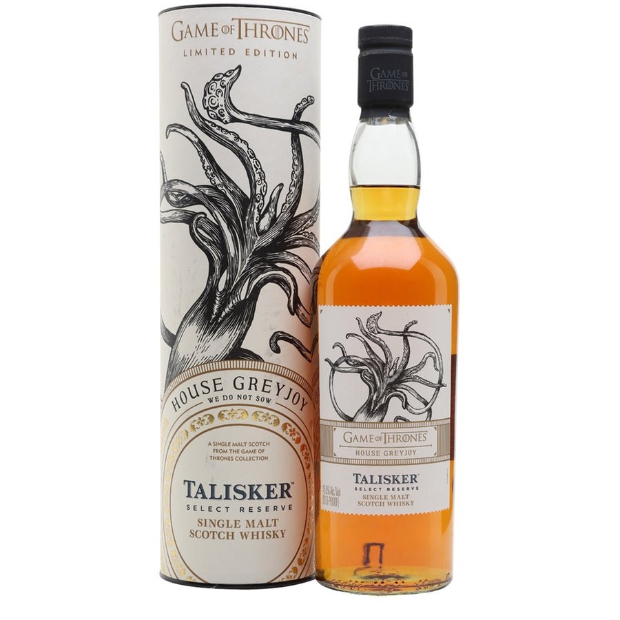 Game of Thrones House Greyjoy - Talisker Select
