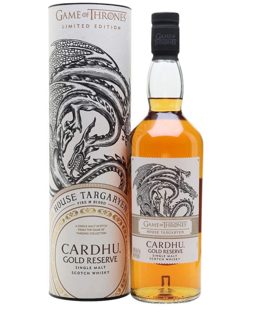 Game of Thrones House Targaryen – Cardhu Gold Reserve