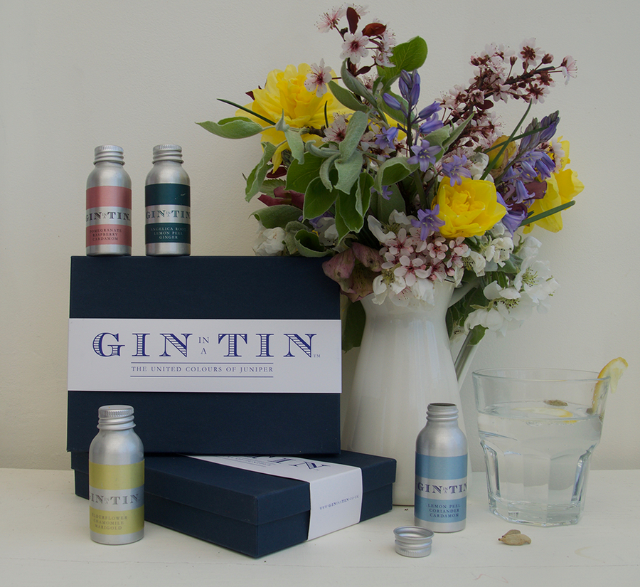 Gin in a Tin Gift Set - Spring