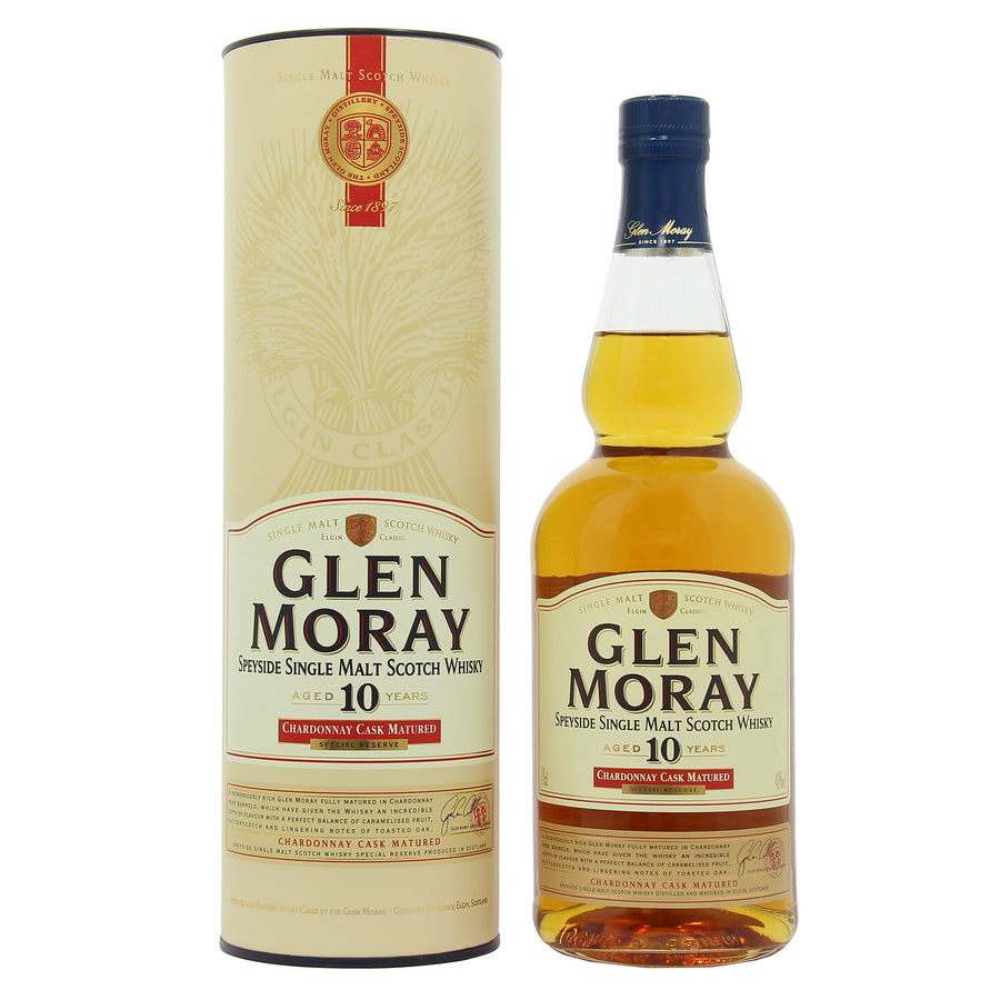 Glen Moray 10 Years Old Chardonnay Cask