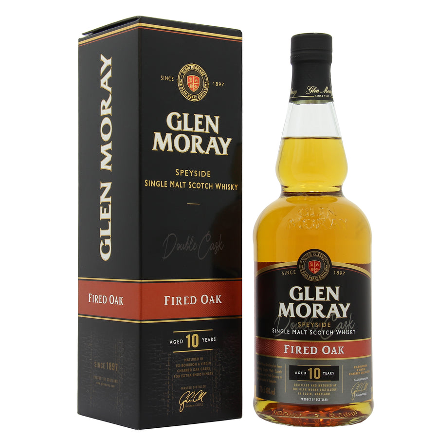 Glen Moray 10 Years Old Fired Oak Cask