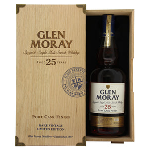 Glen Moray 25 Year Old Port Cask Finish Limited Edition