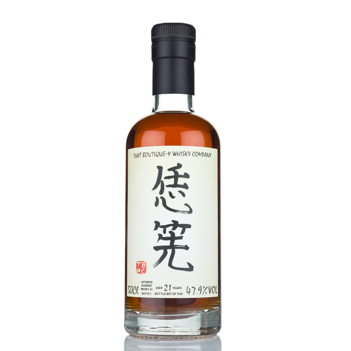 Japanese Blended Whisky #1 21 Year Old Batch 2 (That Boutique-y Whisky Company)