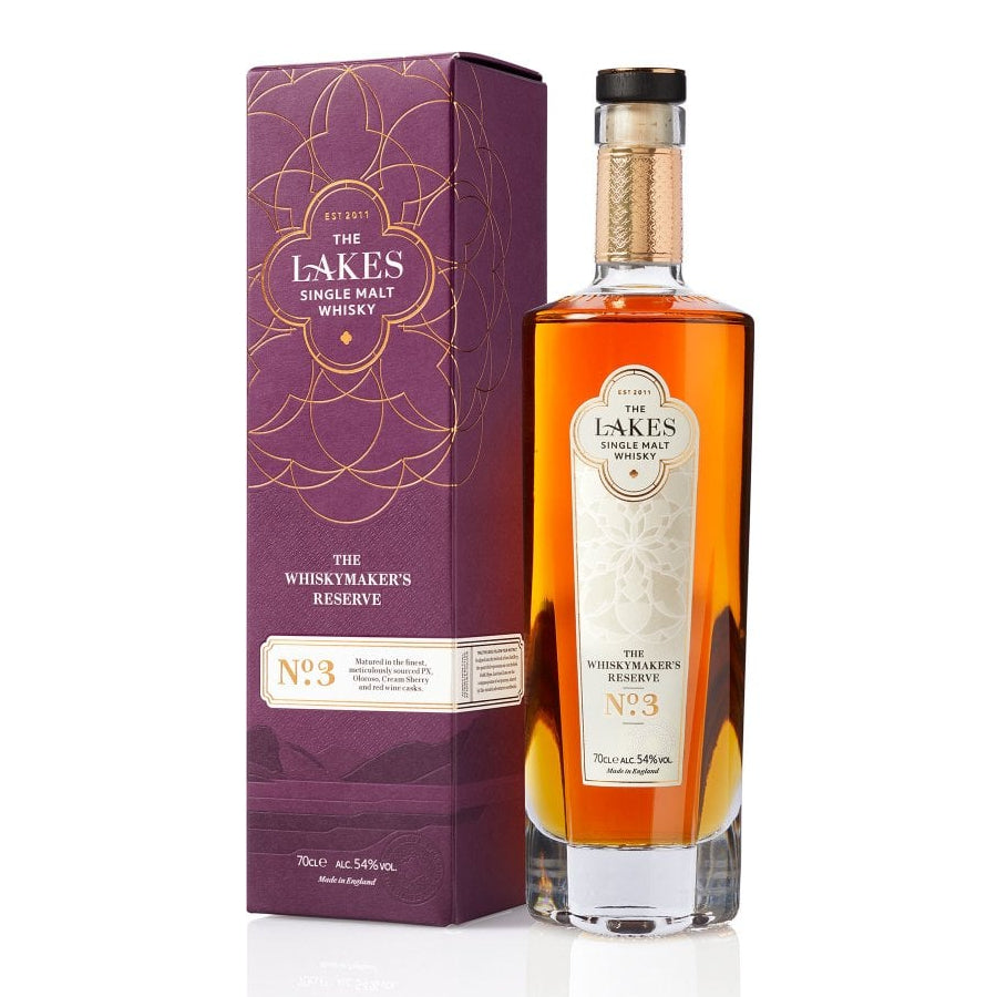 Lakes Single Malt Whisky The Whiskymaker's Reserve No.3