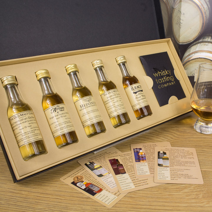 Premium Single Malts of Scotland Tasting Set