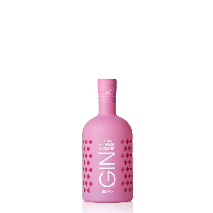 The Lakes Distillery Rhubarb and Rosehip Gin Liqueur 20cl