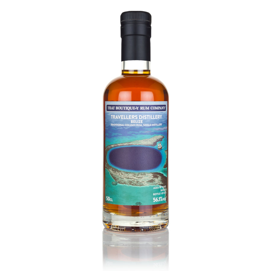 Travellers, Belize - Traditional Column Rum, Single Distillery - Batch 1 - 10 Year Old