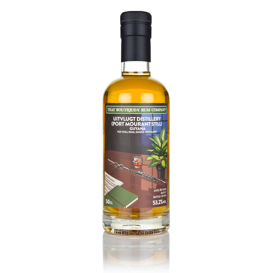 Uitvlugt (Port Mourant Stills), Guyana - Pot Still rum, Single Distillery - Batch 1 - 26 Year Old