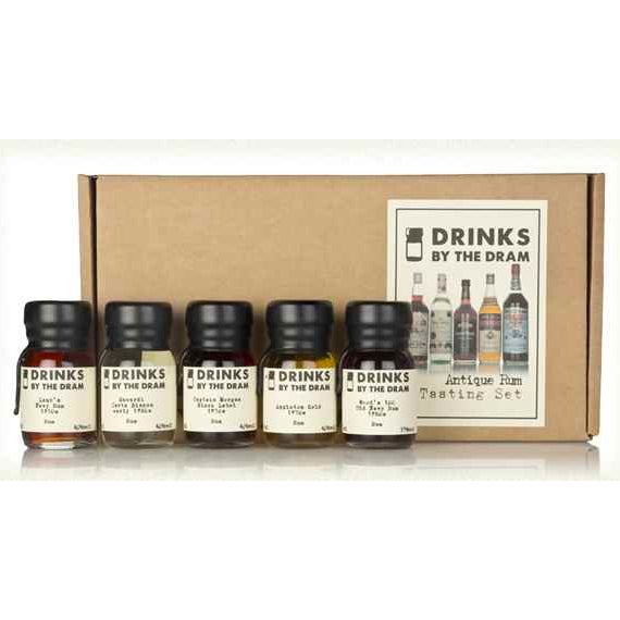 Antique Rum Tasting Set