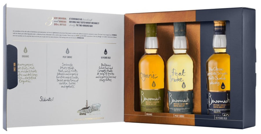 Benromach Scotch Gift Pack