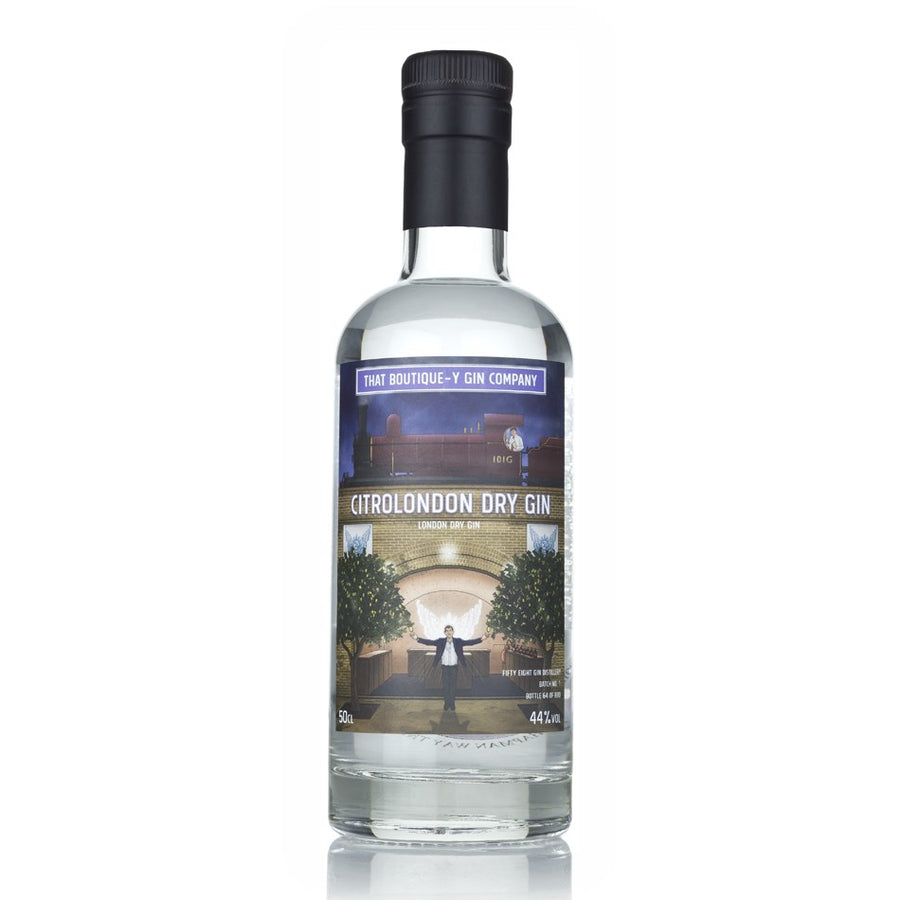 Citrolondon Dry Gin - Fifty Eight Gin Distillery