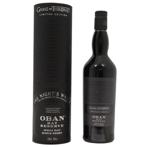 Oban Bay Reserve - Game Of Thrones Night's Watch