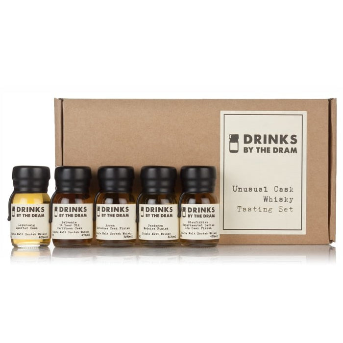 Unusual Cask Whisky Tasting Set